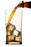 Glace de coke Photo stock