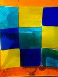 Glace de couleur Image libre de droits