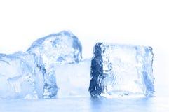 glace de cube Photographie stock
