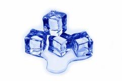 glace de cubes photo stock