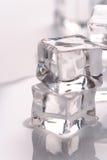 glace de cubes photo libre de droits