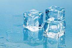 glace de cubes Image stock
