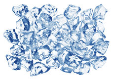 glace de cubes Photos libres de droits