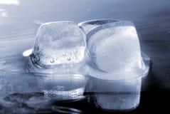 glace de cubes Images libres de droits