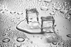 glace de cubes photos stock
