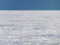 Glace de dérive de mer d'Okhotsk au Hokkaido, Japon Image libre de droits
