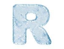 glace de fonte Photographie stock