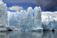 glace de glacier Photographie stock libre de droits