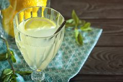 Glace de jus de citron photos libres de droits