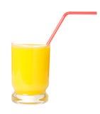 Glace de jus d'orange photographie stock libre de droits