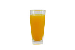 Glace de jus d'orange Photo libre de droits