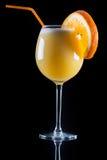 Glace de jus d'orange image libre de droits