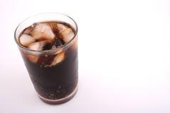 Glace de kola sur un blackground blanc Photo stock