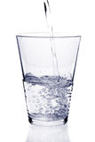 Glace de l'eau Photographie stock libre de droits