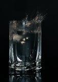 Glace de l'eau Photos libres de droits