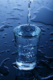 Glace de l'eau Photo stock