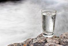 Verre de l'eau photos libres de droits