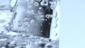 Glace de l'eau banque de vidéos