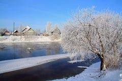 Glace de l'hiver photographie stock