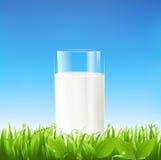 Glace de lait Images libres de droits