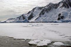 Glace de mer antarctique Photos libres de droits