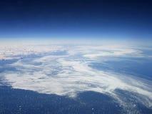Glace de mer et icebergs Photo libre de droits