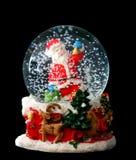 glace de Noël de bille Photographie stock libre de droits