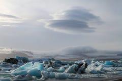 glace de nuages Photographie stock