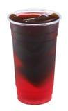 Glace de Rosselle avec la gelée photographie stock