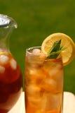 Glace de thé glacé Photo stock