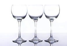 Glace de vin Image libre de droits