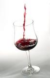 Glace de vin Photo libre de droits