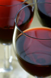 Glace de vin image stock