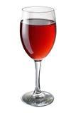Glace de vin Photo stock