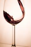 Glace de vin. Images libres de droits