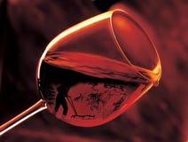 Glace de vin. Photographie stock libre de droits