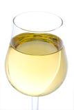 Glace de vin blanc Images libres de droits