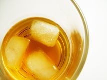 Glace de whiskey Photos libres de droits