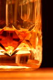 Glace de whiskey A Photographie stock