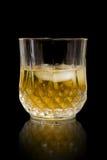 Glace de whiskey photographie stock libre de droits
