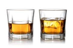 Glace de whiskey photos libres de droits