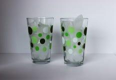Glace en verres Image libre de droits