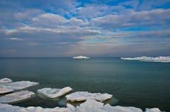 Glace et iceberg Photographie stock libre de droits