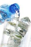 Glace et l'eau Photographie stock