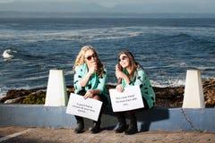Glace et océan Photos libres de droits