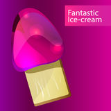 Glace fantastique Image stock