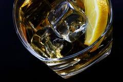Glace froide d'alcool photos libres de droits