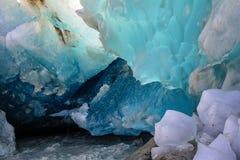 Glace glaciaire Image libre de droits