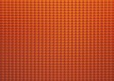 Glace orange Photos libres de droits