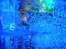 Glace, perles, couleurs image stock